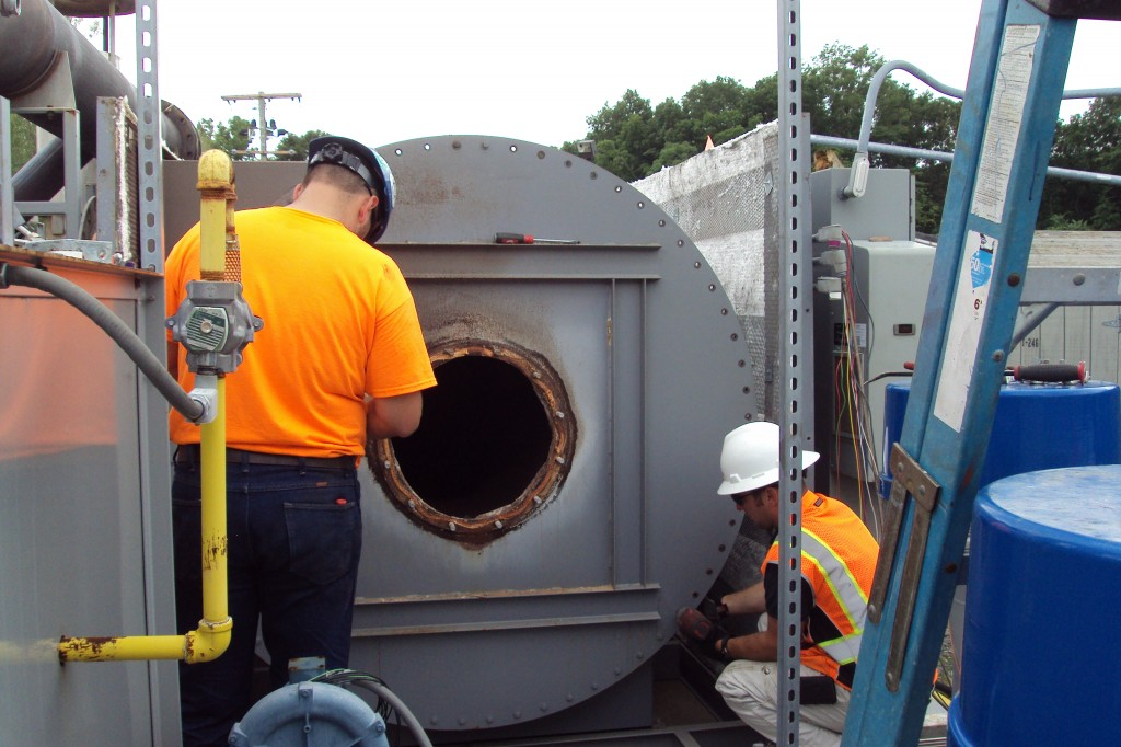 Repairs completed to the oxidizer in late August.