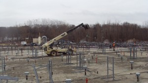 De-mobilization from site on March 30, 2015.